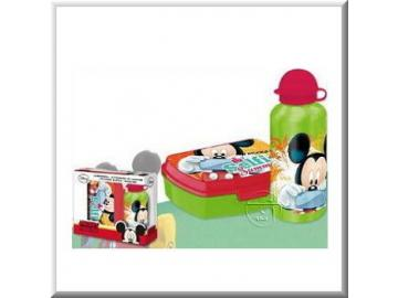 Set Sandwichbox / Trinklflasche 'Mickey Mouse'
