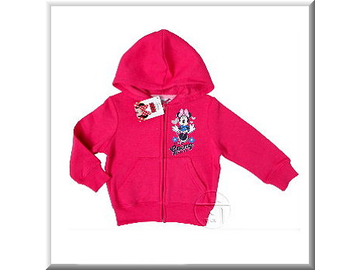 Sweatshirtjacke 'Minnie Mouse'