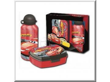 Set Sandwichbox / Trinkflasche 'Cars'