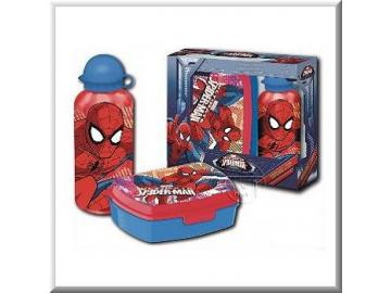 Set Sandwichbox / Trinkflasche 'Spiderman'